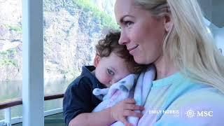 MSC Preziosa: Emily Norris an Bord