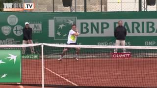 Match Klizan - Bautista-Agut - 1/2 Finale Tournoi Primrose Bordeaux 2012