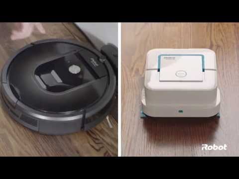 Braava Jet mopping Robot from iRobot