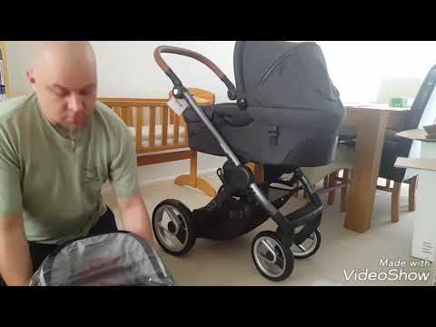MUTSY EVO travel system – carry cot & pushchair