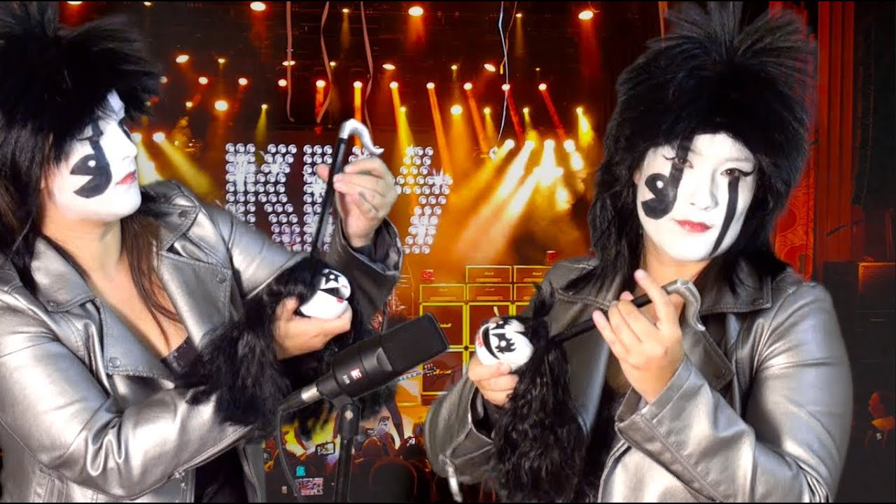 KISS – Rock and Roll All Nite – Otamatone Cover || mklachu