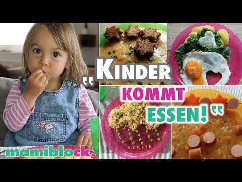 Mittagessen für Kinder | Einfach - Gesund - Lecker | mamiblock Rezepte