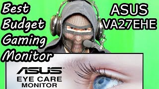 Best Budget Gaming Monitor ASUS VA27EHE 75HZ Unboxing And Review 27 inch Monitor