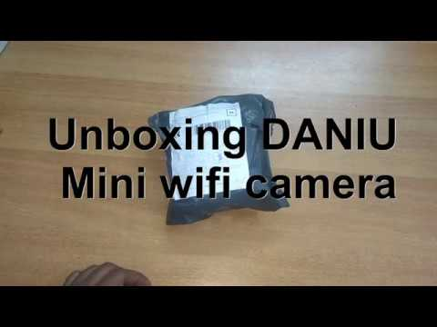 DANIU Mini Wireless Camera unboxing