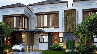 Video Desain Perumahan Modern 2 Lantai Arya Green Simatupang di  Jakarta
