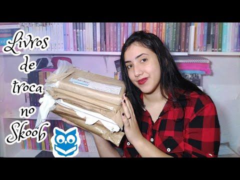 ?UNBOXING? | ?LIVROS DE TROCA NO SKOOB?| Part.1| Leticia Ferfer | Livro Livro Meu