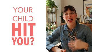 What to do When Your Child Hits You? (How to Handle it!)