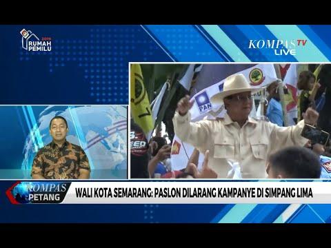 Wali Kota Semarang: Paslon Dilarang Kampanye di Simpang Lima