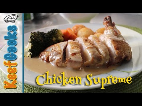 Classic French Chicken Supreme Recipe @Chicken Recipes