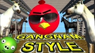 ANGRY BIRDS Dance GANGNAM STYLE   ♫ 3D Animated Mashup Parody ☺ FunVideoTV  Style
