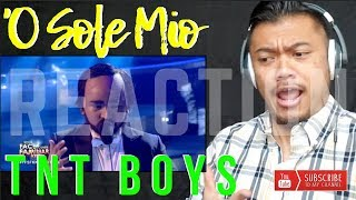 TNT BOYS as The Three Tenors singing, 'O Sole Mio on YFSF | REACTION vids with Bruddah Sam