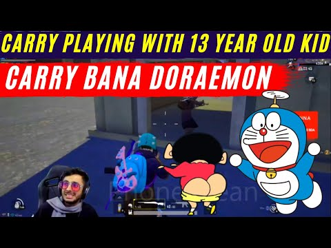 Carry bana doraemon funny | Carry minati playing with 13 year old child