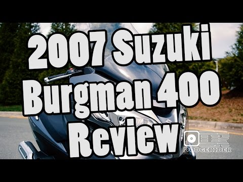 2007 Suzuki Burgman 400 – Bike Review