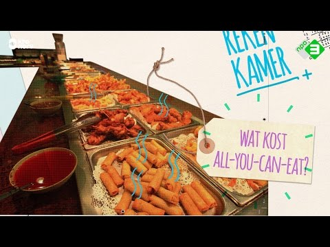 Wat kost All you can eat | DE REKENKAMER