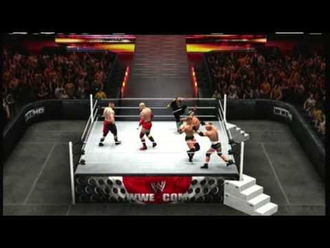XTW September Show Match 2   JBL vs Goldberg vs Brock Lesnar vs British Bulldog vs Sgt Slaughter vs