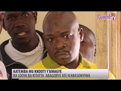 Katemba abadde mu kkooti y'amagye omulamuzi bwagobye ba looya ba Kitata ate oluvanyuma n'abasonyiwa