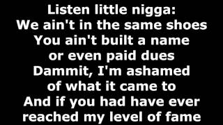 Hopsin - All Your Fault - Lyrics