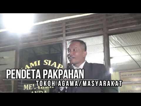 Pesan Damai Jelang Pelantikan Presiden,Oleh Uspika dan Masyarakat Kecamatan Pangaribuan Taput