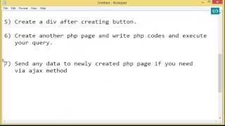 How to select data and display in a div using php jquery ajax