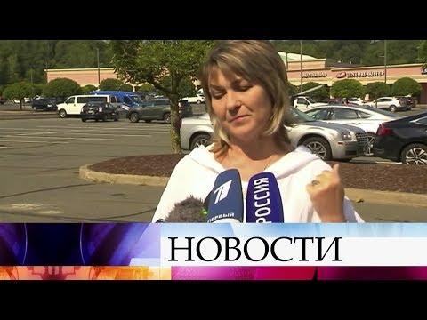 , title : 'В тюрьме штата Коннектикут прошла встреча российского летчика К.Ярошенко с женой и дочерью.'