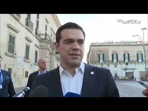 Δήλωση του Πρωθυπουργού Αλέξη Τσίπρα στην άτυπη Σύνοδο του Ευρωπαϊκού Συμβουλίου