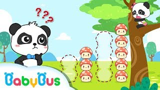 Baby Panda's Trapped on a Big Tree | Mushroom Fairies, Angry Bull | Math Kingdom Adventure | BabyBus