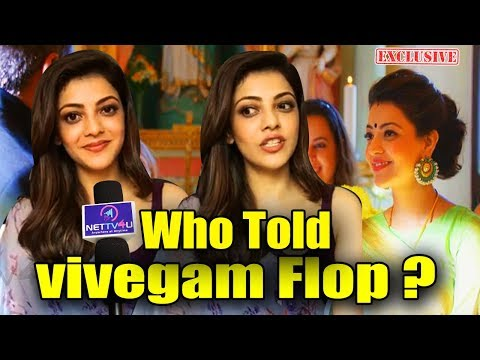 Kajal Agarwal Open Talk About Vivegam | Exclusive Chat With Thala Ajiths Heroin | Vivegam Is A Hit