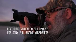 YouTube Video OZ7bXNzuOKE for Product Tamron 28-200mm F/2.8-5.6 Di III RXD Lens (A071) by Company Tamron in Industry Lenses