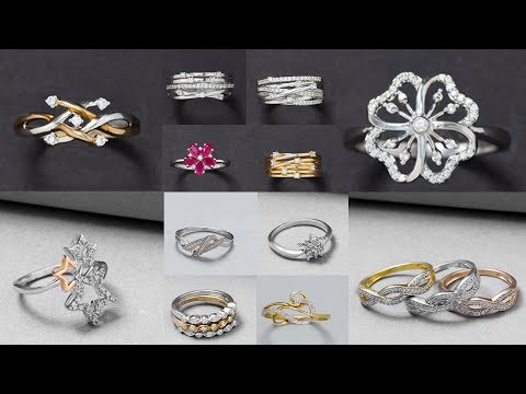 Beautiful Ring Sterling Silver Jewellery Photos For Girls | Latest Jewellery Design Images