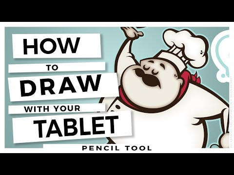 Adobe Illustrator Tutorial for Beginners: Wacom Tablet using Pencil