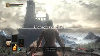 Dark Souls III Incandescent Reshade Cemetery of Ash and Iudex Gundyr