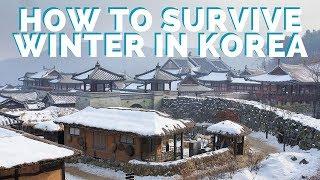 Winter In Korea: Tips So You Don't Die   Interracial Couple Living In Korea