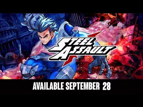 Release Date Trailer de Steel Assault