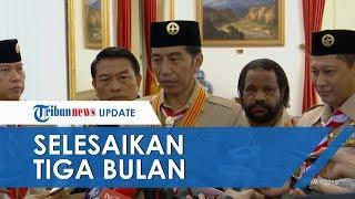 Kapolri akan Selesaikan Kasus Novel dalam 6 Bulan, Jokowi: 3 Bulan Tim Teknis Harus Bisa Selesaikan