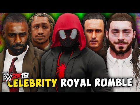 WWE 2K19 - CELEBRITY ROYAL RUMBLE!! (2019 Edition)
