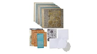 Paper Wishes Steampunk Papercrafting Kit with Stamps