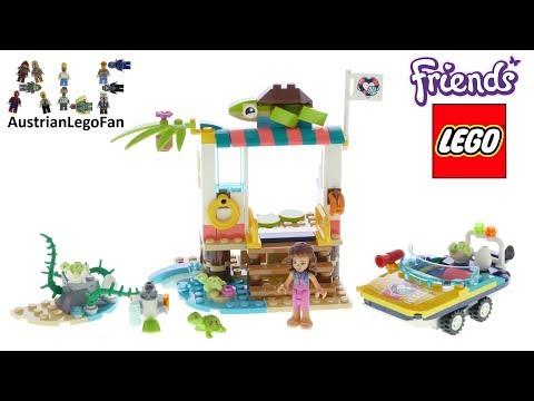 Vidéo LEGO Friends 41376 : La mission de sauvetage des tortues