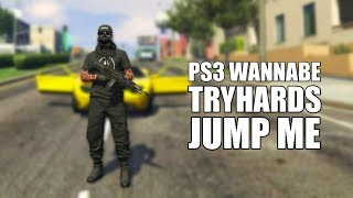 More PS3 Wannabe Tryhards Jump Me GTA 5 Online (Got Booted)