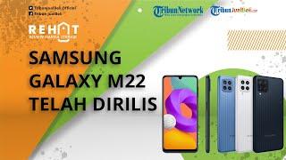 REHAT: Samsung Galaxy M22 Rilis di Indonesia Cuma Rp2 Jutaan, Berikut Spesifikasinya