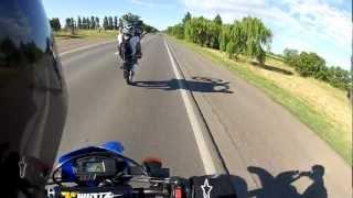preview picture of video 'Maxi Tirando Willy Honda Tornado 250 salida Motoencuentro San Vicente'