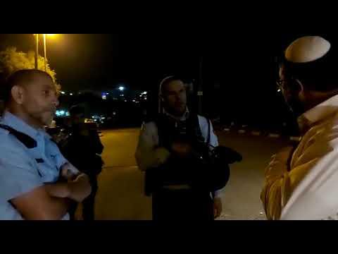 ירושלים: המשטרה עזבה, המתפרעים נשארו