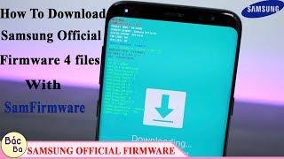 How to Make Samsung Full 4Files Firmware - मुफ्त ऑनलाइन