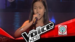"""The Voice Kids Philippines Blind Audition """"Maghintay Ka Lamang"""" by Angelique"""