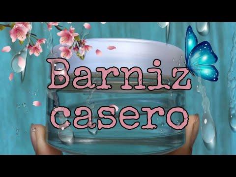 Barniz Casero, (2 ingredientes)  para manualidades 💕