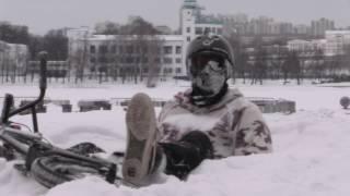 Как учат трюки на BMX зимой #brkls