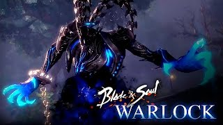 Blade & Soul - Warlock Class Selection - Low level Gameplay - KR