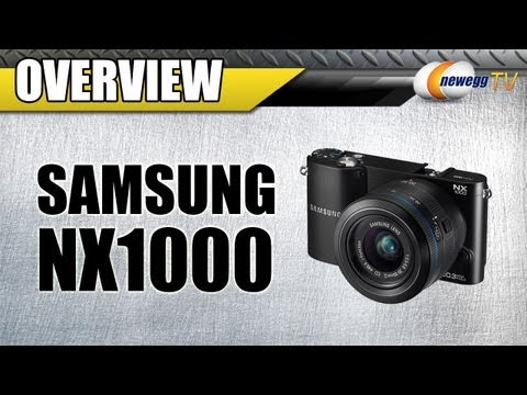 Newegg TV: SAMSUNG NX1000 20.3 megapixels Smart Compact Digital Camera Overview