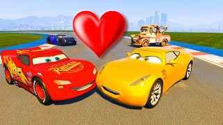 Cruz Ramirez New McQueen Jackson Storm and Friends Cars The King Chick Hicks Hudson Ferrari & Songs