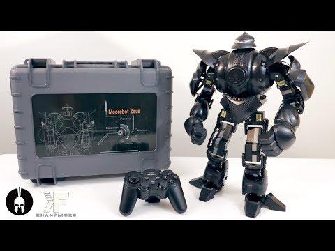 UNBOXING & LETS PLAY! – ZEUS – Moorebot : Ultimate Battle Humanoid Robot w/ 22 Servos!