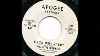 Yes Sir That's My Baby-Hale & Hushabyes-'1964- 45-Apogee A-104 & Reprise 0299.wmv